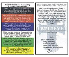 Pocket Card Plan Of Salvation (100)