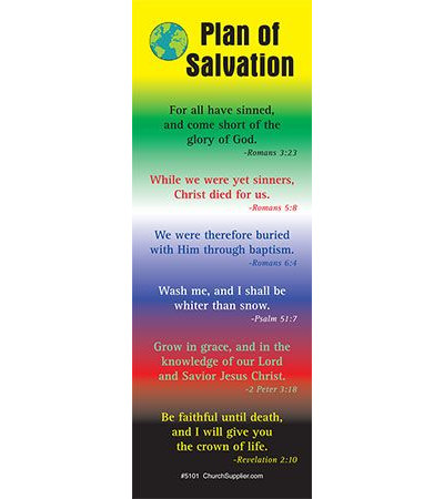Bookmark Plan Of Salvation (Pkg of 50)