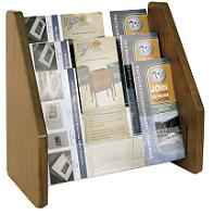 Table or Countertop Brochure Holder