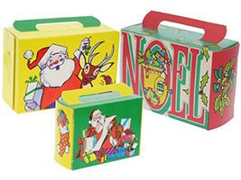 Christmas Toyland Assorted Treat Boxes (Pkg of 6)