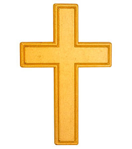 Gold Pocket Crosses, Metal (Pkgs of 50)