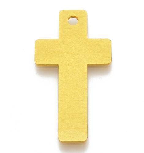 Pocket Crosses Golden -Pkg of 10