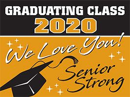 Class of 2021, 2022 Lawn Sign (Set of 10)