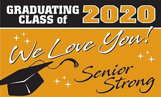 Class of 2021 Generic Outdoor Vinyl Banner