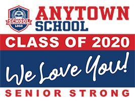 Class of 2021 Custom Outdoor Vinyl Banner