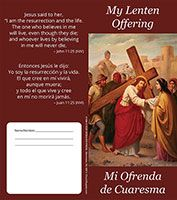 $40 - Dollar Bilingual Lenten Folder -