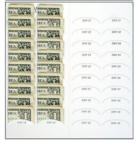 Resurrection & Life 40 dollar lent Coin Folder