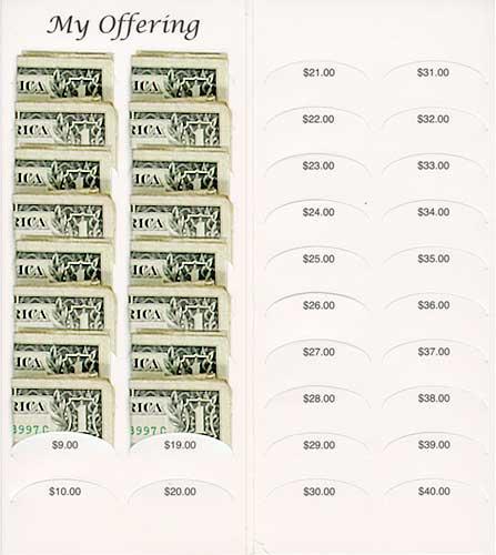 Rememberance of Me Dollar Folder
