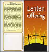 $40 This Do In Remembrance of Me Lenten Dollar Folder (Pkg of 50)