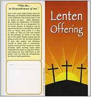 $40 This Do In Remembrance of Me Lenten Dollar Bill Folders (Pkg of 50)