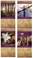 Large Easter Church Banners (Set of 4)