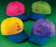 I Love Vacation Bible School Baseball Caps
