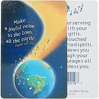 Make A Joyful Noise Pocket Card