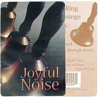 Joyful Noise-Bells Ring In Blessings card