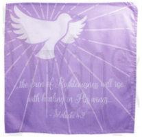Dove Prayer Cloth - Malachi 4:2