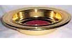 Offering Plate Brass Anodized Aluminum