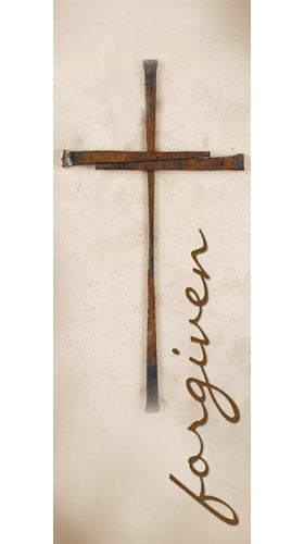 Forgiven Lent Season Sanctuary Banner