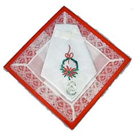 Christmas Boxed Handkerchiefs Cotton