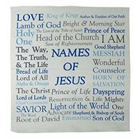 Names of Jesus Prayer Handkerchief