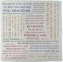 HEALING Verses Prayer Handkerchief