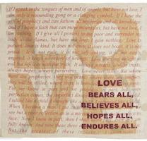 Love Prayer Handkerchief