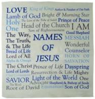 Names of Jesus Prayer Handkerchief