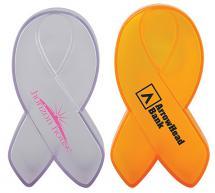 Ribbon Donation Bank Plastic Clear or Yellow 100 minimum
