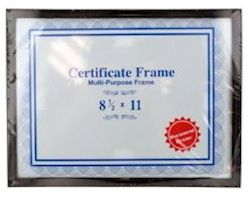 Wall Certificate Document Frame 8.5 x 11