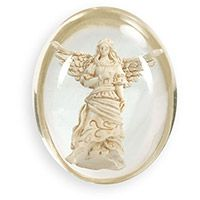 Guardian Special Angel Clear Pocket Stone