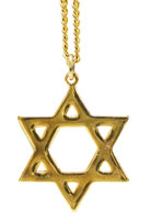 Star of David Jewish Necklace