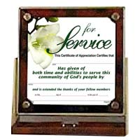 For Service Desk Frame Certificate Holder