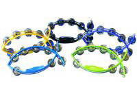 Fish Tambourine 11 Inch in 4 Colors