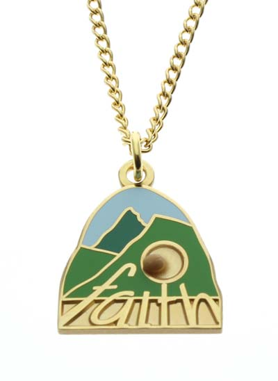 Faith Mountain Mustard Seed Necklace
