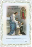 5401 First Holy Communion Certificate