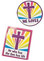 He Lives Easter Sticker Set (Pkg of 168)