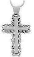 Sterling Silver Cross Necklace Jewelry