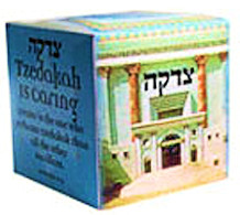 Custom Tzedakah Donation Box (2500)