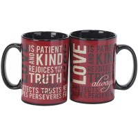 Love Is Patient Mug