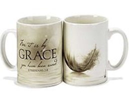 Grace You Have Been Saved Stoneware Mug