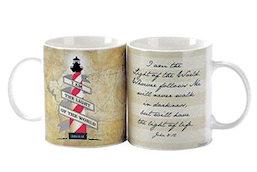 Light of the World Stoneware Mug