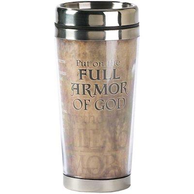 Full Armour of God Stainless Steel Travel Mug