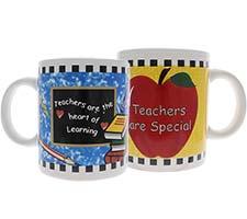 For a Special Teacher Mug (Set of 2)