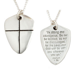 Shield Of Faith Necklace Small