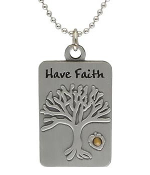 Seed tree of life dog tag necklace mustard seed tree of life dogtag necklace aloadofball Image collections