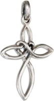 Sterling Silver Infinity Cross
