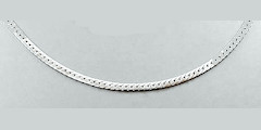 Sterling silver Herringbone chain 2MM 18 Inch