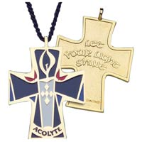Acolyte or Altar Server Pendant on Cord