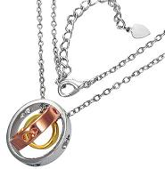 Chastity Purity Gold silver Necklace fashion