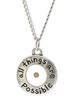 All Things Are Possible Mustard Seed Necklace