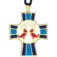 Choir Members Singers Cross Necklace